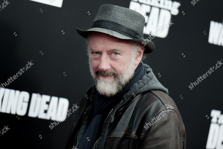 "Xander Berkeley attends the Live Special Edition of ""Talking Dead"" at the Hollywood Forever Cemetery, in Los Angeles"