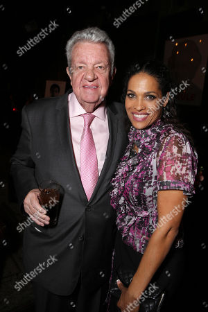 "Gene Kilroy and Rasheda Ali-Walsh seen at the Los Angeles Premiere of Focus World's ""I Am Ali"" on Wed, in Hollywood"