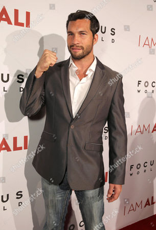 """Stock Photo of Marcus Shirock seen at the Los Angeles Premiere of Focus World's """"I Am Ali"""" on Wed, in Hollywood"""