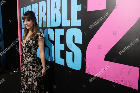 """Catherine Reitman seen at the Los Angeles Premiere of New Line Cinema's """"Horrible Bosses 2"""" on Thursday, Nov 20th, 2014, in Los Angeles"""