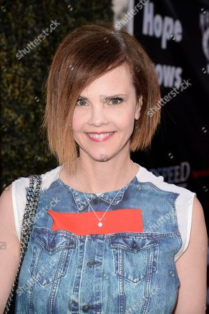 Stock Image of Kiersten Warren seen at Los Angeles Premiere of Roadside Attractions/Godspeed Pictures 'Where Hope Grows' at Arclight Cinemas Hollywood, in Los Angeles, CA