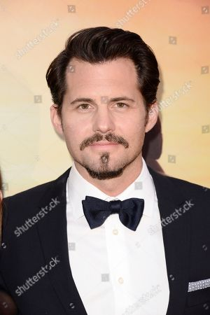 Kristoffer Polaha seen at Los Angeles Premiere of Roadside Attractions/Godspeed Pictures 'Where Hope Grows' at Arclight Cinemas Hollywood, in Los Angeles, CA
