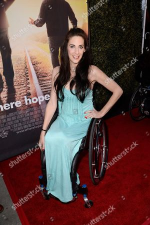 Mia Schaikewitz seen at Los Angeles Premiere of Roadside Attractions/Godspeed Pictures 'Where Hope Grows' at Arclight Cinemas Hollywood, in Los Angeles, CA