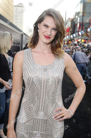 Heather Doerksen seen at the Los Angeles Premiere of Warner Bros Pictures and Legendary Pictures 'PACIFIC RIM', on Tuesday, July, 9, 2013 in Los Angeles