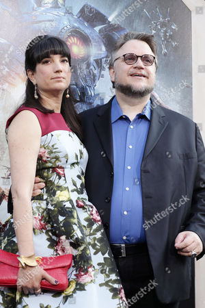 Lorenza Newton and Screenplay Writer/Director Guillermo del Toro seen at the Los Angeles Premiere of Warner Bros Pictures and Legendary Pictures 'PACIFIC RIM', on Tuesday, July, 9, 2013 in Los Angeles