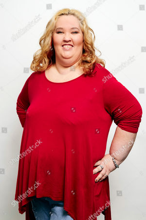 June Shannon aka Mama June poses for a portrait in New York. Shannon and boyfriend Mike Thompson aka Sugar Bear are on the new season of Marriage Bootcamp Reality Stars on We