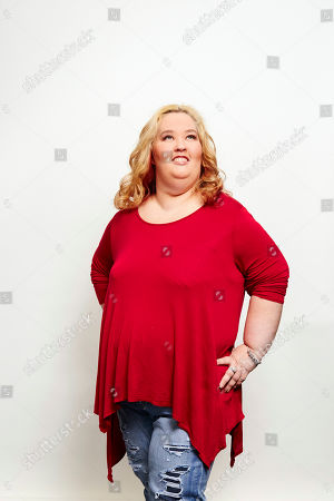 Stock Photo of June Shannon aka Mama June poses for a portrait in New York. Shannon and boyfriend Mike Thompson aka Sugar Bear are on the new season of â?oeMarriage Bootcamp Reality Starsâ?? on We