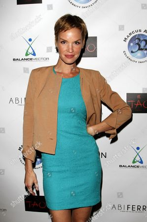 Actress Ashley Scott attends Marcus Allen Foundation 2013 Celebrity Invitational Poker Tournament on Sunday, June 2nd, 2013 at Lucky Strike Hollywood in Los Angeles, California