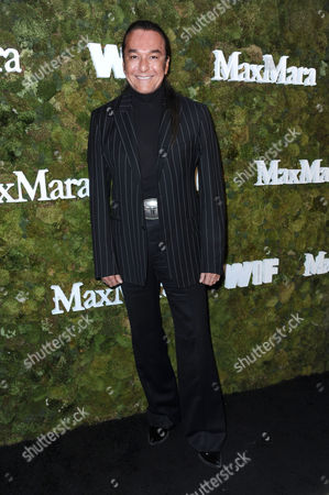 Nick Chavez arrives at a cocktail reception honoring the 2015 Women in Film Max Mara Face of the Future recipient Kate Mara at Chateau Marmont, in West Hollywood, Calif