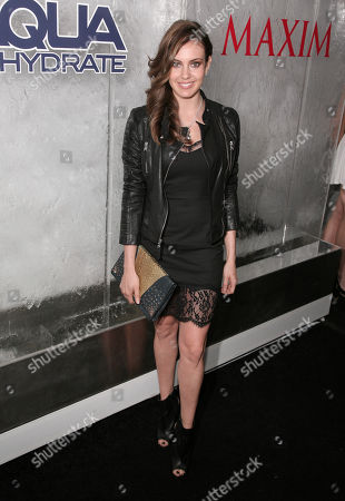 Erin Brady attends the Maxim Magazine Super Bowl Party on in New York