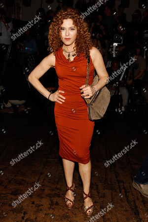 Bernadette Peters poses at the MBFW Spring/Summer 2015 Donna Karen Fashion Show New York on Monday, Sept, 8 2014, in New York