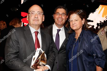 Bloomingdales Frank M Doroff, CEO Tony Spring, Anne Keating seen at MBFW Spring/Summer 2015 - Donna Karen Fashion Show New York at 547 W. 26th Street on Monday, Sept, 8 2014, inNew York
