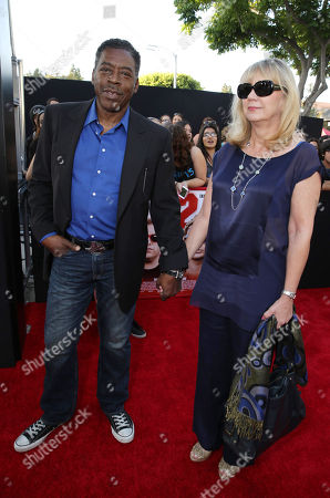 Ernie Hudson and Linda Kingsberg seen at the Metro-Goldwyn-Mayer Pictures and Columbia Pictures' World Premiere of '22 Jump Street' at The Regency Village Theatre, in Westwood, Calif