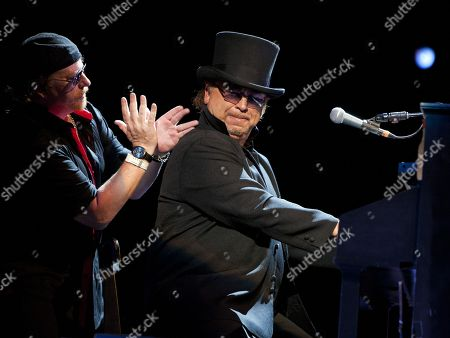Joseph Williams and David Paich performed as part of the Michael McDonald and Toto co-headlining tour at the Fox Theatre, in Atlanta, Ga