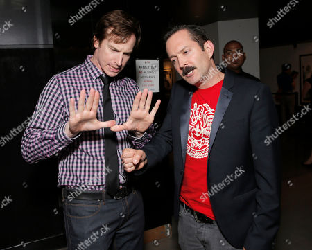 """Rob Huebel and Robert Ben Garant attend Millennium Entertainment's """"Hell Baby"""" Los Angeles Premiere at the Chinese 6 Theater Hollywood on in Hollywood, California., on Monday, August, 19, 2013 in Los Angeles"""