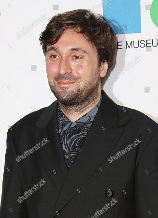 Francesco Vezzoli arrives at MOCA's 35th Anniversary Gala presented by Louis Vuitton at The Geffen Contemporary at MOCA on in Los Angeles