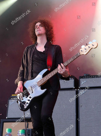 Benji Blakeway with Catfish and the Bottlemen performs during Music Midtown 2015 at Piedmont Park, in Atlanta