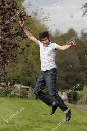 Editorial photo of Greg Pritchard, contestant in Britain's Got Talent in Cardiff, Wales, Britain  - 09 May 2009