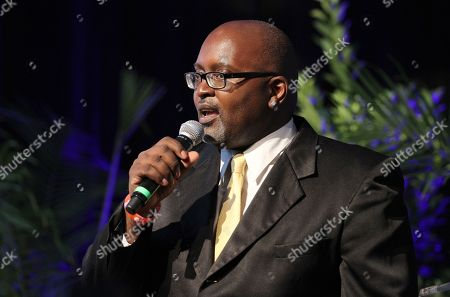 Stock Image of Eric Deggans attends the NABJ Art of Entertainment Party, on in Orlando, Florida