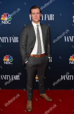 Stock Picture of Cliff Chamberlain arrives at NBC And Vanity Fair's 2014 - 2015 TV Season Event at Hyde Sunset Kitchen on in Los Angeles