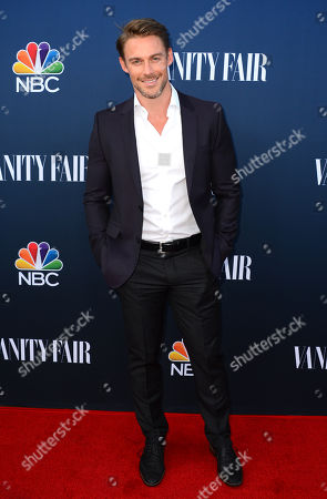 Jessie Pavelka arrives at NBC And Vanity Fair's 2014 - 2015 TV Season Event at Hyde Sunset Kitchen on in Los Angeles