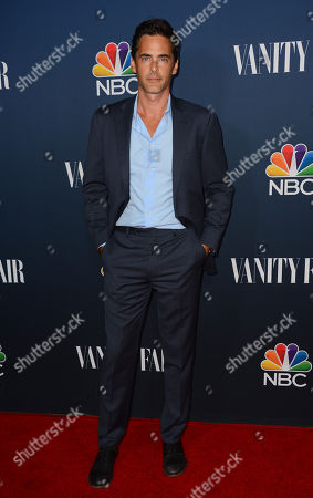 Stock Photo of Adam Kaufman arrives at NBC And Vanity Fair's 2014 - 2015 TV Season Event at Hyde Sunset Kitchen on in Los Angeles