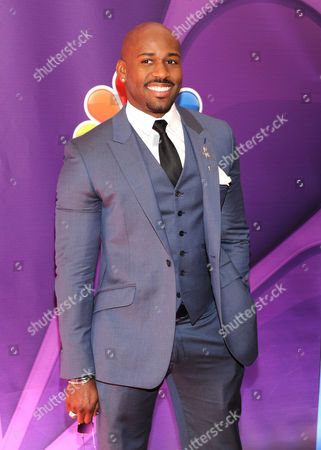 Dolvett Quince attends the NBC Network 2013 Upfront at Radio City Music Hall on in New York