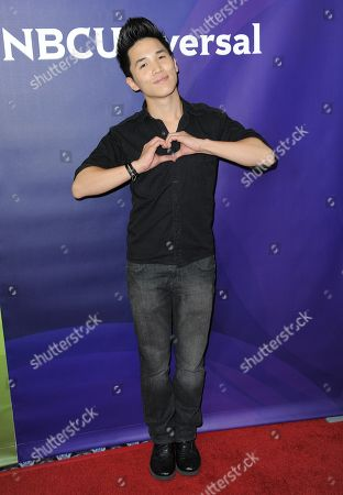 Abraham Lim attends the second day of NBCUniversal's 2012 Summer Press Tour at the Beverly Hilton Hotel, in Beverly Hills, Calif