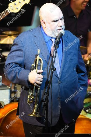 Randy Brecker performs at the Nearness of You Concert at Jazz at Lincoln Center, in New York