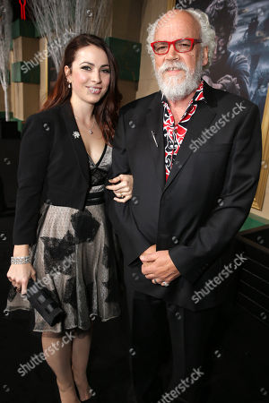 Georgia Allen and John Callen seen at New Line Cinema and Metro-Goldwyn-Mayer Pictures presents the Los Angeles Premiere of 'The Hobbit: The Battle of The Five Armies', in Los Angeles