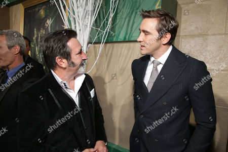 William Kircher and Lee Pace seen at New Line Cinema and Metro-Goldwyn-Mayer Pictures presents the Los Angeles Premiere of 'The Hobbit: The Battle of The Five Armies', in Los Angeles