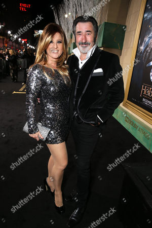 Nicole Chesterman Kircher and William Kircher seen at New Line Cinema and Metro-Goldwyn-Mayer Pictures presents the Los Angeles Premiere of 'The Hobbit: The Battle of The Five Armies', in Los Angeles