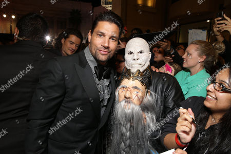 Manu Bennett seen at New Line Cinema and Metro-Goldwyn-Mayer Pictures presents the Los Angeles Premiere of 'The Hobbit: The Battle of The Five Armies', in Los Angeles