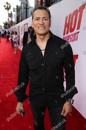 "Vincent Laresca seen at the New Line Cinema and Metro-Goldwyn-Mayer Premiere of ""Hot Pursuit"", in Los Angeles"