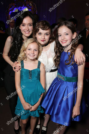 Hayley McFarland, Kyla Deaver, Joey King and Mackenzie Foy seen at New Line Cinema's 'The Conjuring' Premiere, on Monday, July, 15, 2013 in Los Angeles