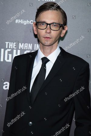 "DJ Qualls attends the Amazon original series ""The Man in the High Castle"" premiere event at Alice Tully Hall, in New York"