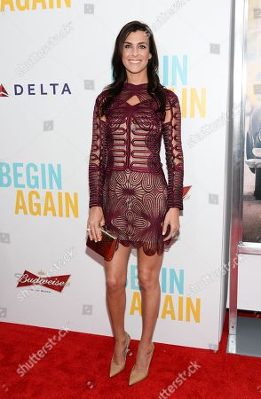 """Lilly Hartley attends the premiere of """"Begin Again"""" at the SVA Theatre on in New York"""