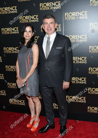"""Writer Nicholas Martin attends the premiere of """"Florence Foster Jenkins"""" at AMC Loews Lincoln Square, in New York"""