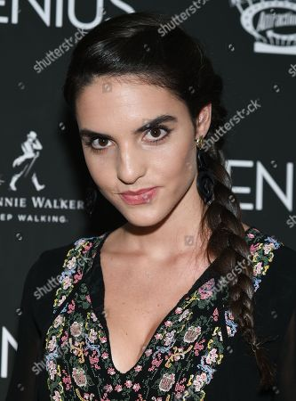 """Stock Picture of Elena Rusconi attends the premiere of """"Genius"""" at the Museum of Modern Art, in New York"""