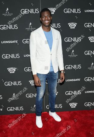 """Stock Picture of Kyle Scatliffe attends the premiere of """"Genius"""" at the Museum of Modern Art, in New York"""