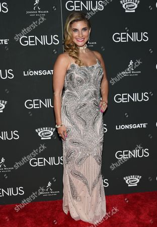 """Stock Picture of Marisa Saks attends the premiere of """"Genius"""" at the Museum of Modern Art, in New York"""