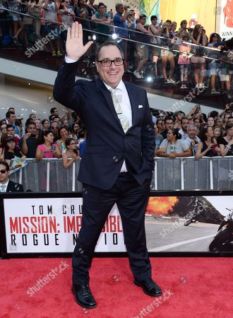 """Stock Picture of Composer Joe Kraemer attends the premiere of """"Mission: Impossible - Rogue Nation"""" in Times Square, in New York"""