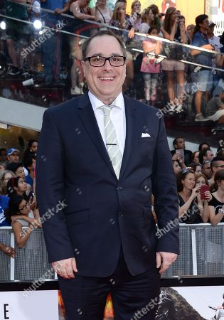 """Composer Joe Kraemer attends the premiere of """"Mission: Impossible - Rogue Nation"""" in Times Square, in New York"""