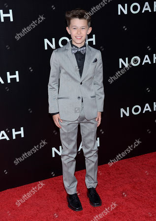 """Actor Nolan Gross attends the premiere of """"Noah"""" at the Ziegfeld Theatre on in New York"""