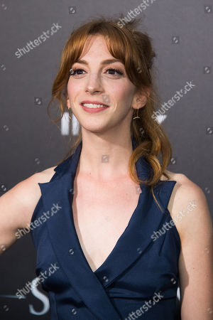 "Stock Photo of Molly Kate Bernard attends the premiere of ""Sully"" at Alice Tully Hall, in New York"