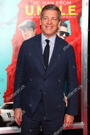 "Lionel Wigram attends the premiere of ""The Man From U.N.C.L.E."" at the Ziegfeld Theatre, in New York"