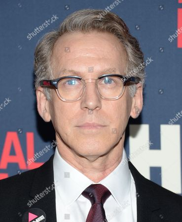 """Stephen Spinella attends the premiere of HBO Films' """"The Normal Heart"""" at the Ziegfeld Theatre, in New York"""