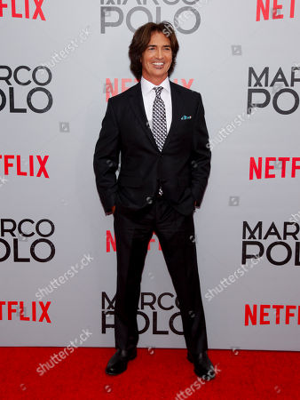 "John Fusco attends the season premiere of the new Netflix series ""Marco Polo"" at AMC Lincoln Square, in New York"