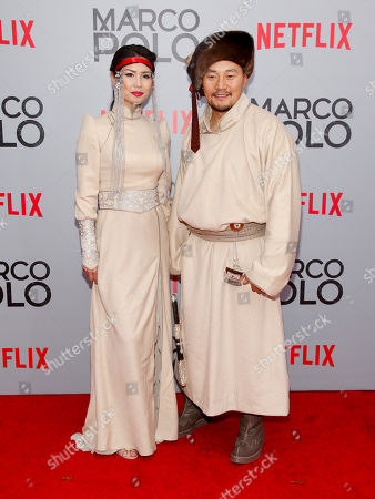 "Editorial picture of NY Premiere of Netflix's ""Marco Polo"", New York, USA - 2 Dec 2014"