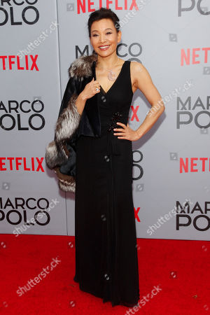 """Editorial image of NY Premiere of Netflix's """"Marco Polo"""", New York, USA - 2 Dec 2014"""